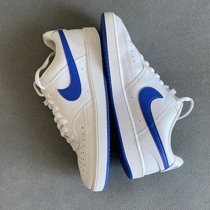 Nike court vision sneakers.